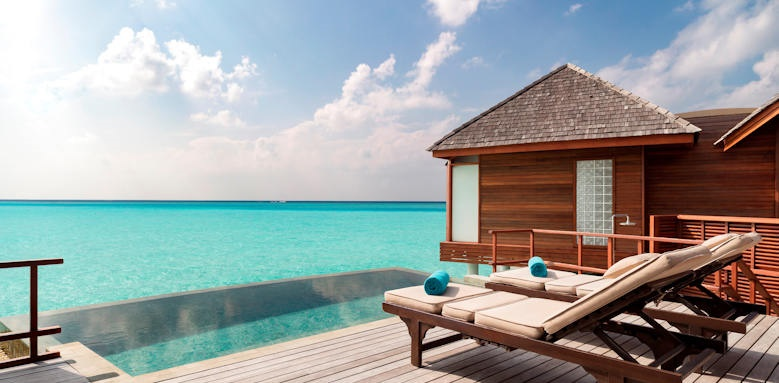Anantara Dhigu Maldives Resort, anantara over water pool suite