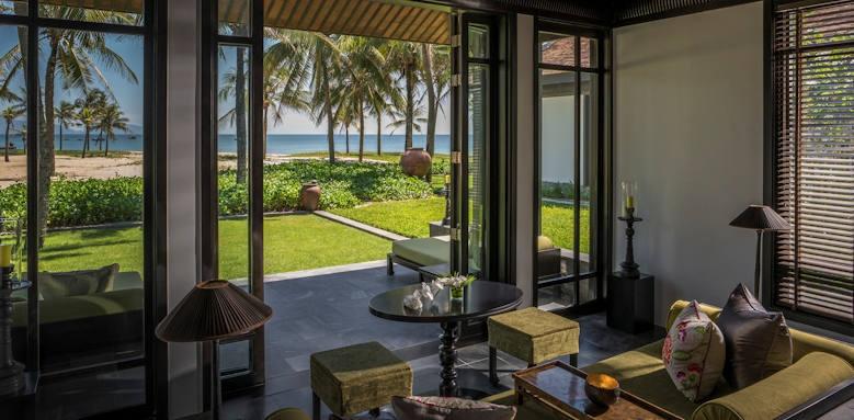 Four Seasons Resort the Nam Hai, one bedroom beachfront villa
