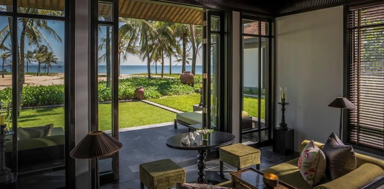 Four Seasons Resort the Nam Hai, one bedroom villa ocean view