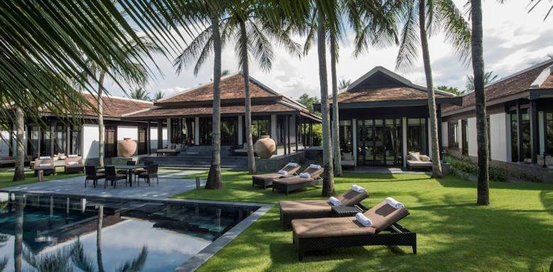 Four Seasons Resort the Nam Hai, three bedroom hill top pool villa