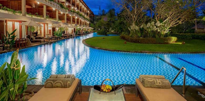 Melia Bali, lagoon access junior suite