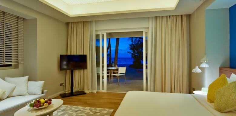 Kandima Maldives, beach villa with jacuzzi
