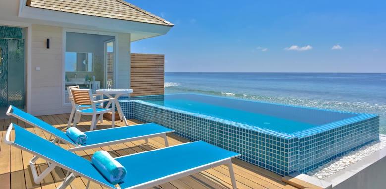 Kandima Maldives, ocean pool villa