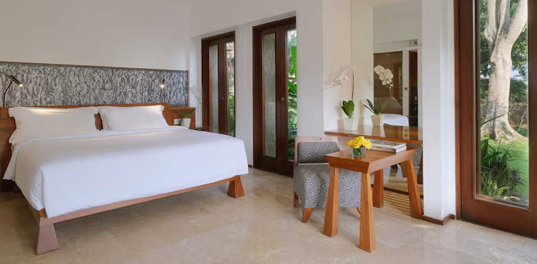 Maya Ubud, deluxe room