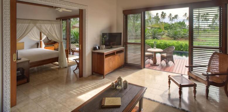 Residence Zanzibar, frangipani garden pool villa