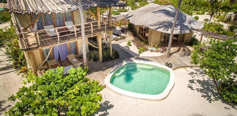 Zanzibar white sand luxury villas, two bedroom villa