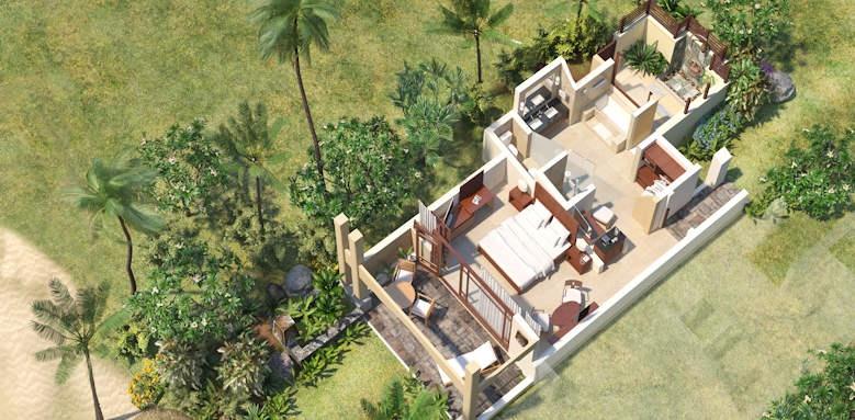 Shanti Maurice, junior suite beachfront