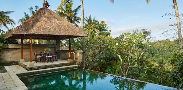 Amandari, pool suite