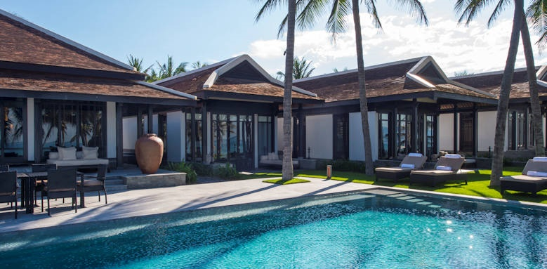 Four Seasons Resort the Nam Hai, five bedroom beachfront pool villa