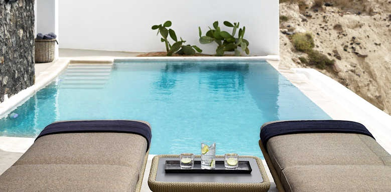 Santo Maris Oia Luxury Suites and Spa, Cave junior suite with private pool