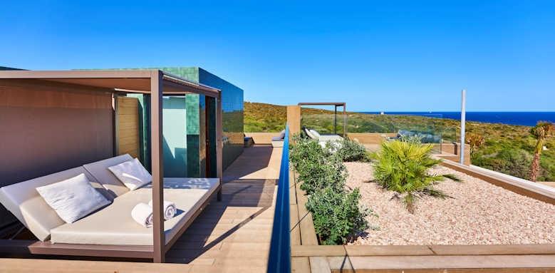 Insotel Punta Prima, Superior family suite roof top