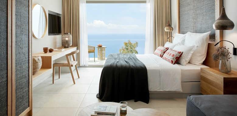 Marbella Elix Hotel, Superior room with sea view