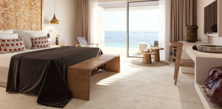 Marbella Elix Hotel, deluxe double with sea view