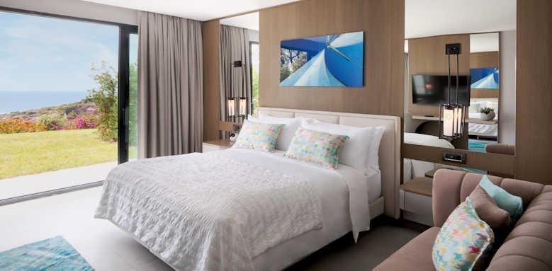 Le Meridien Bodrum Beach Resort, Deluxe seaview with sofa