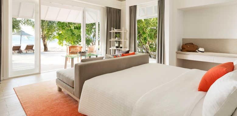 LUX South Ari Atoll, beach pool villa