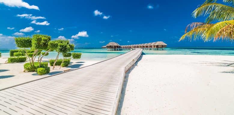LUX South Ari Atoll, beach water villas