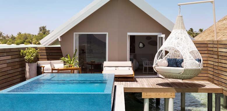 LUX South Ari Atoll, romantic pool water villa