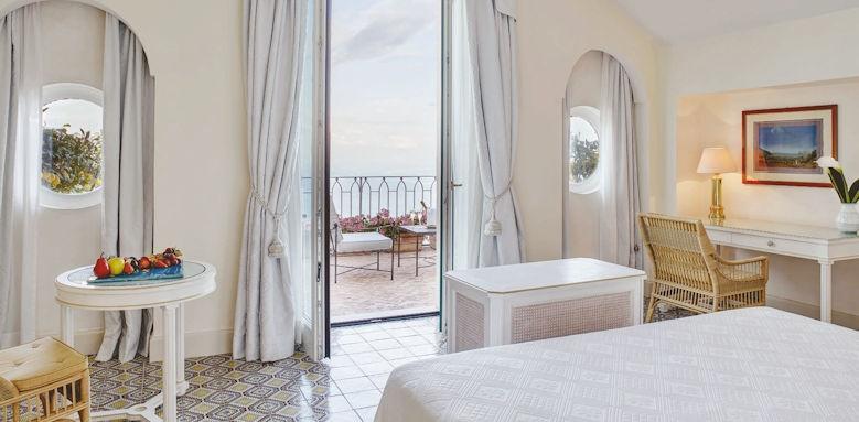 belmond hotel caruso, deluxe double room