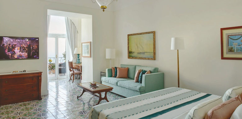 belmond hotel caruso, superior junior suite