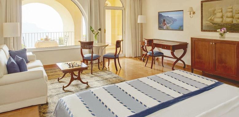 belmond hotel caruso, deluxe junior suite