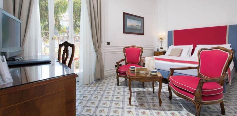 Grand Hotel Ambasciatori, garden view room with balcony