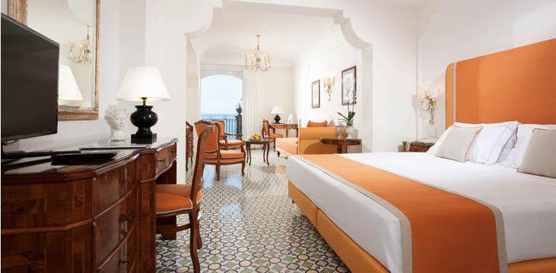 Grand Hotel Ambasciatori, suite sea view