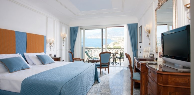 Grand Hotel Capodimonte, sea view room with balcony