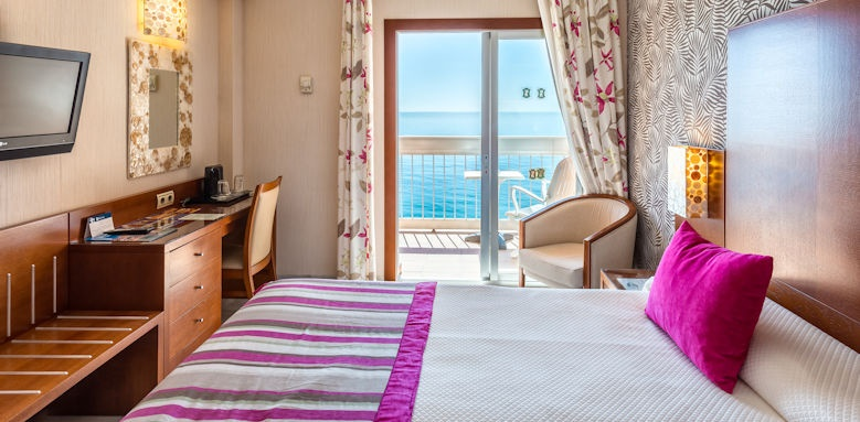 Balcon de Europa, double room with sea view