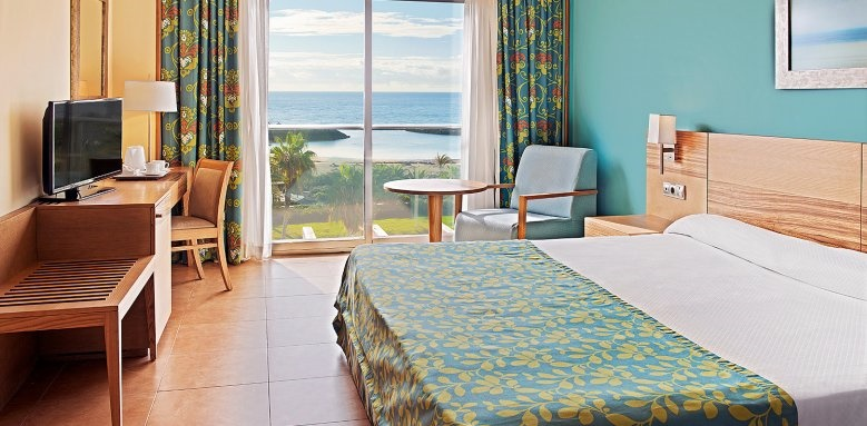 Elba Carlota Resort, double sea view room
