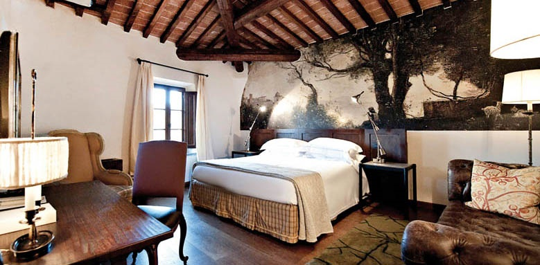 Castel Monastero, deluxe room