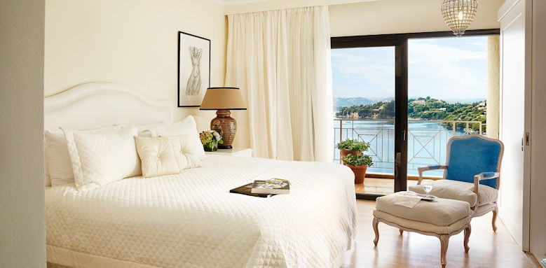 Grecotel Imperial Corfu, luxury suite sea view