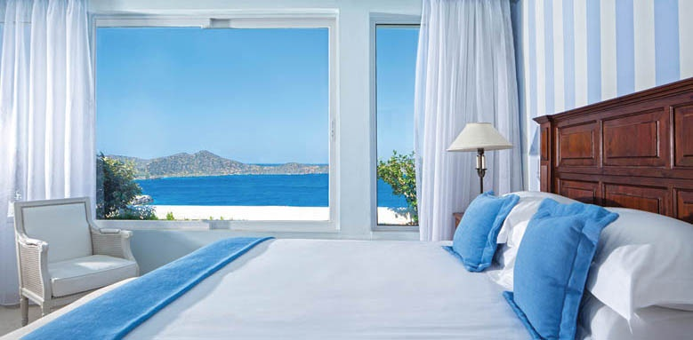 Elounda Gulf Villas & Suites, Aegean pool villa bedroom