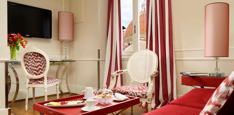 Brunelleschi Hotel, bargello suite