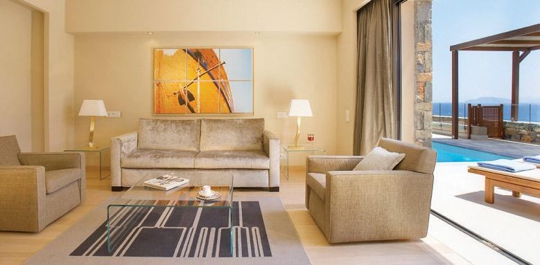 Daios Cove Luxury resort and Villas, One bedroom suite