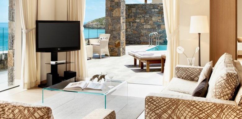 Daios Cove Luxury resort and Villas, Two bedroom family villa
