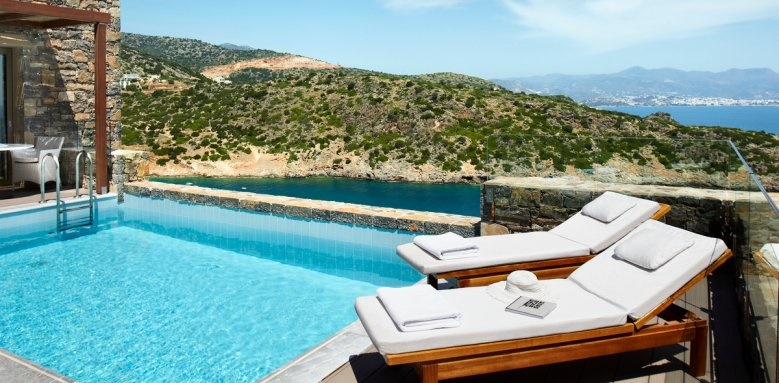 Daios Cove Luxury resort and Villas, Three bedroom villa private pool