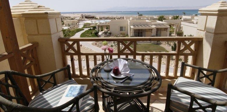 Sheraton Soma Bay Resort, executive suite balcony