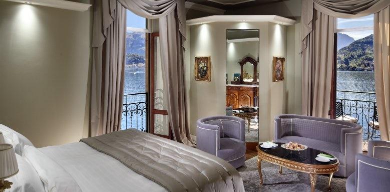 Grand Hotel Tremezzo, deluxe lake view room