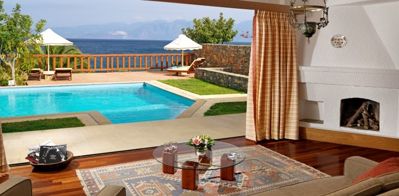 Elounda Mare Hotel, King Minos Royalty Suite