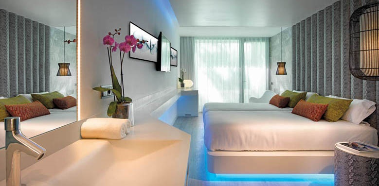 Hard Rock Hotel Ibiza, deluxe silver side ocean view
