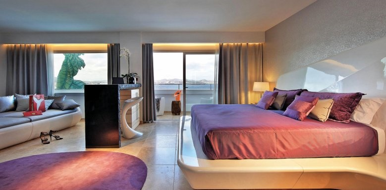Ushuaia Ibiza Beach Hotel,  The Anything can happen suite sea & pool view