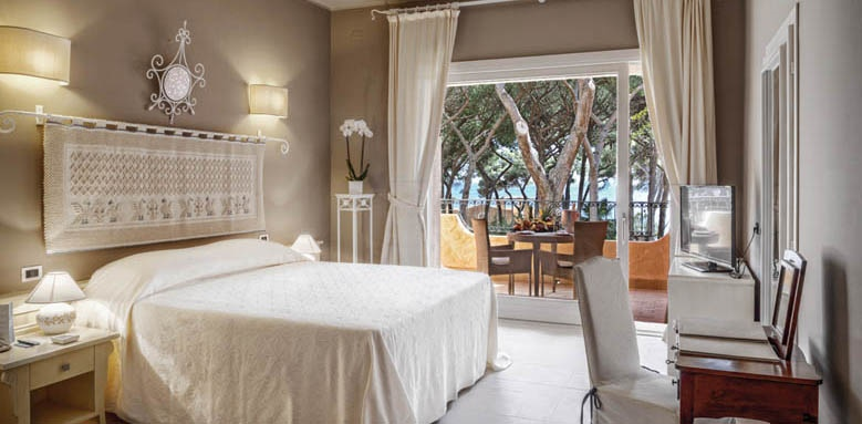 Hotel Castello, executive sea view room