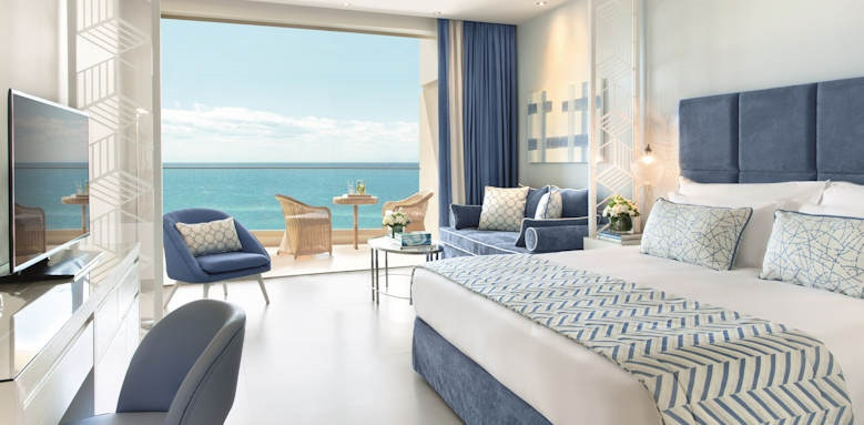 ikos oceania, junior suite sea view