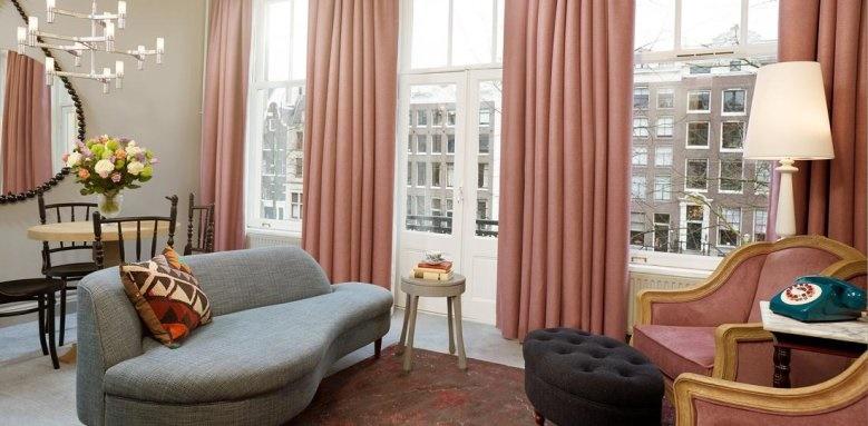 Hotel Pulitzer, cosy suite
