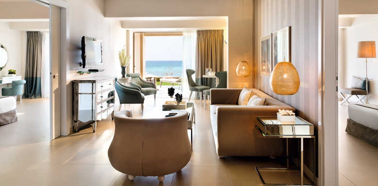 Sani Beach Hotel, two bedroom family suite