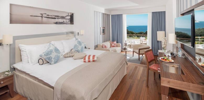 Valamar Dubrovnik President, deluxe sea view room