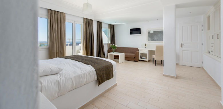 tzekos villas, junior suite