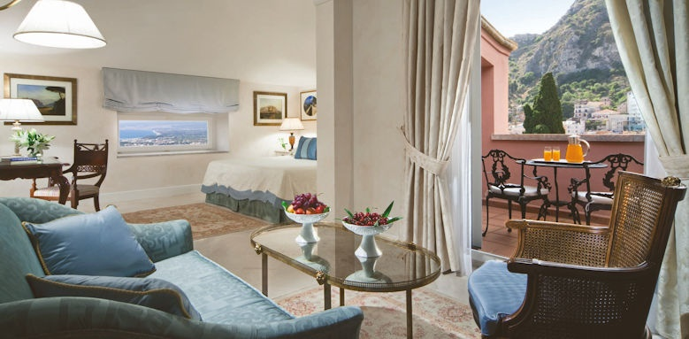 belmond grand hotel timeo, superior junior suite