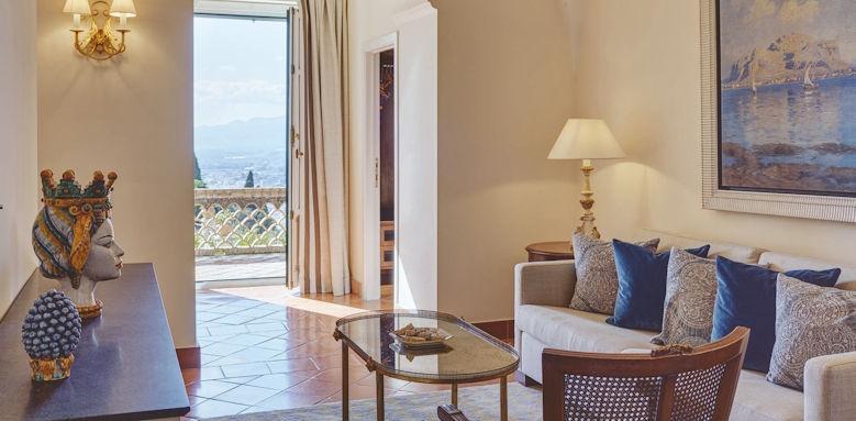 belmond grand hotel timeo, executive junior suite