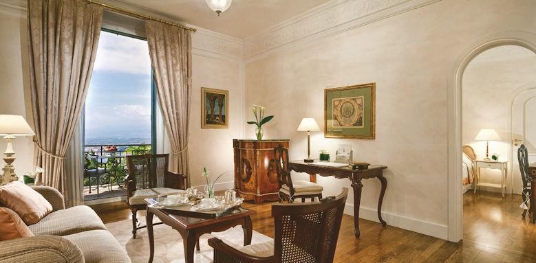 belmond grand hotel timeo, deluxe suite